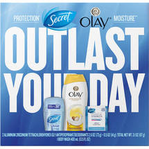 Secret and Olay Gift Set