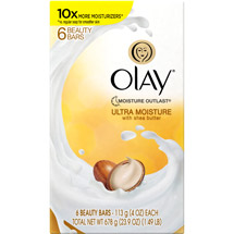 Olay Ultra Moisture with Shea Butter Cleanser Beauty Bar Soap