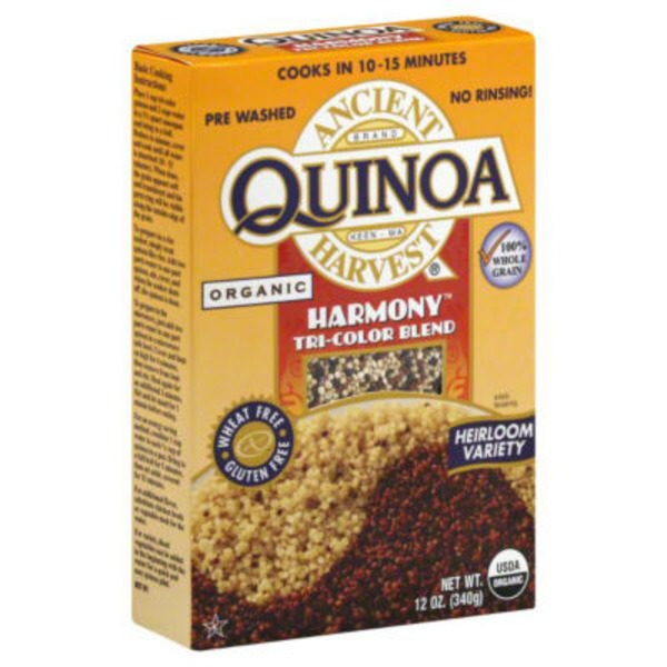 Quinoa Ancient Harvest Organic Harmony Tri-Color Blend