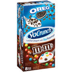 YoCrunch Oreo/M&M's Lowfat Vanilla Yogurt