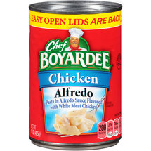 Chef Boyardee Chicken Alfredo Pasta