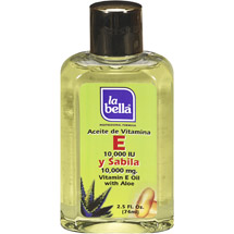 La Bella Vitamin E with Aloe Oil