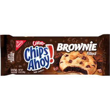 Nabisco Chewy Chips Ahoy! Brownie Filled Soft Cookies