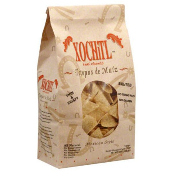 Xochitl Mexican Style White Corn Chips Sea Salt