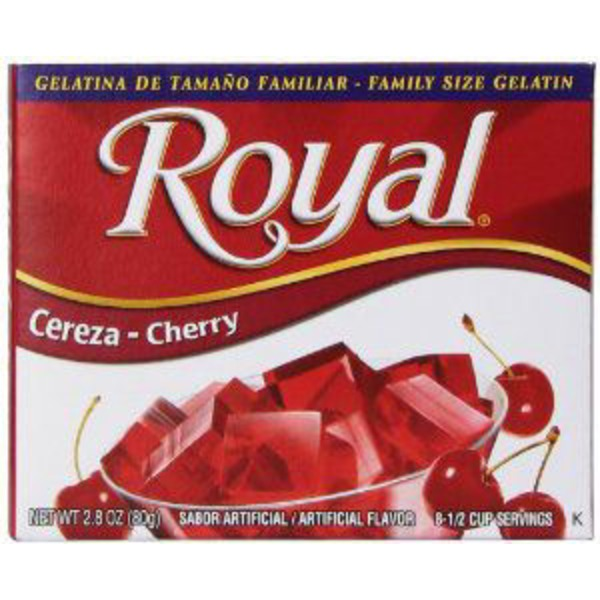 Royal Cherry Gelatin