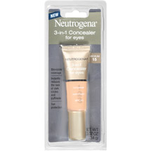 Neutrogena 3-in-1 Concealer for Eyes Medium 15