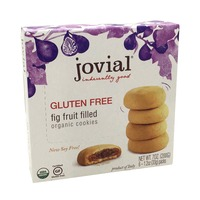 Jovial Gluten Free Fig Fruit Filled Cookies