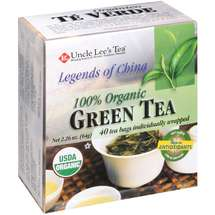 Uncle Lee's Tea Legends of China 100% Organic Green Tea Bags