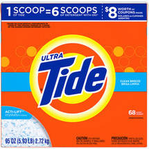Ultra Tide Clean Breeze Powder Laundry Detergent