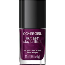 CoverGirl Outlast Stay Brilliant Nail Gloss 45 Fuchsia Flame