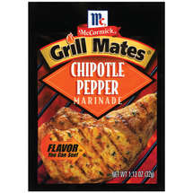 McCormickGrill Mates Chipotle Pepper Marinade Seasonings