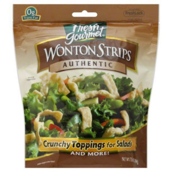 Fresh Gourmet Authentic Wonton Strips