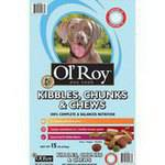 Ol' Roy Kibbles Chunks & Chews Savory Beef & Chicken Flavors Dog Food