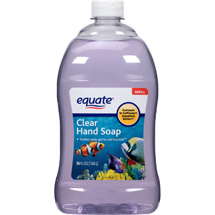 Equate Clear Liquid Hand Soap Refill