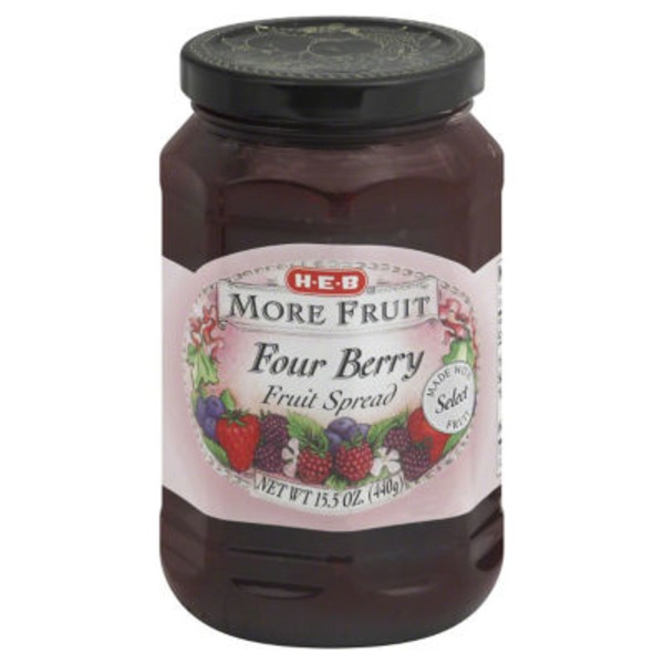 H-E-B Four Berry Spread