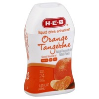 H-E-B Orange Tangerine Liquid Drink Enhancer
