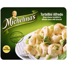 Michelina's Authentico Three Cheese Tortellini Alfredo With Broccoli