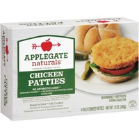 Applegate Organic Chicken Patties 4 Ct