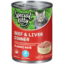 Special Kitty Beef & Liver Dinner Cat Food