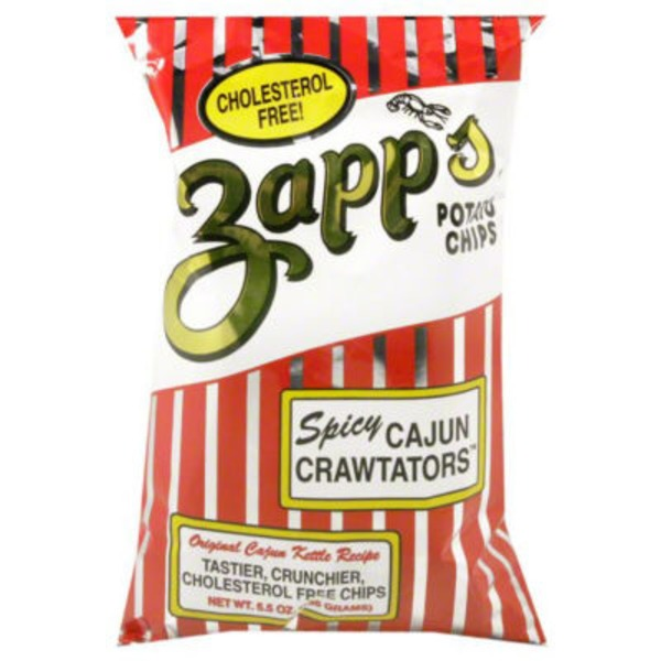 Zapp's Spicy Cajun Crawtators Potato Chips