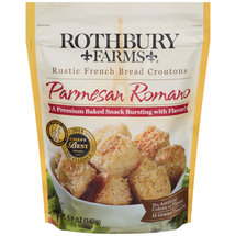 Rothbury Farms Paremesan Romano Rustic French Bread Croutons