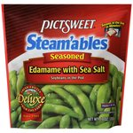Pictsweet Steam'ables Seasoned Edamame with Sea Salt