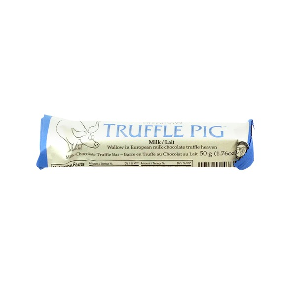 Hagensborg Truffle Pig Milk Chocolate Truffle Bar