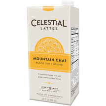 Celestial Seasonings Mountain Chai Black Tea + Spices Latte