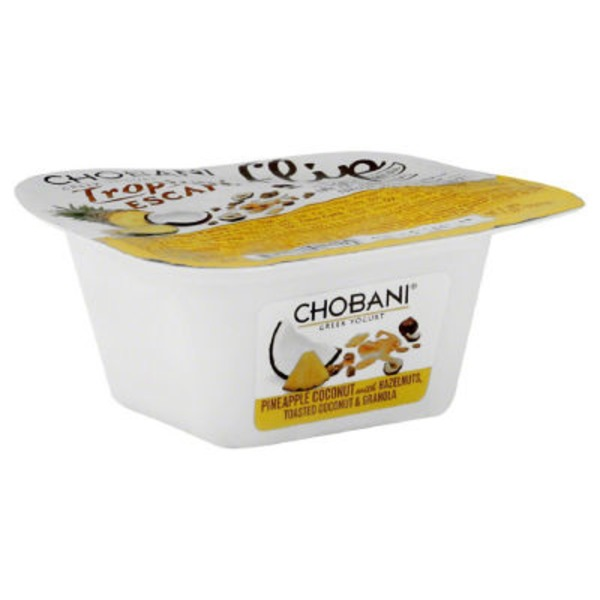 Chobani Flip Tropical Escape Low-Fat Greek Yogurt