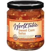 World Table Sweet Corn Hot Salsa