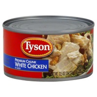 Tyson Shelf Stable Premium White Chunk In Water Chicken Breast