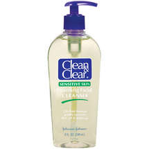 Clean & Clear(R) Foaming Facial Cleanser Sensitive Skin Cleansers