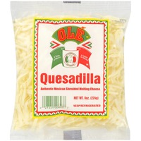 Ole Shredded Melting Cheese, Authentic Mexican, Quesadilla