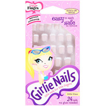 Little Fing'rs Girlie Nails Stick On Nails