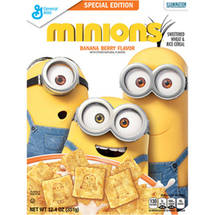 Minions Banana Berry Flavor Cereal