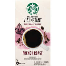 Starbucks VIA Ready Brew French Roast Instant Coffee