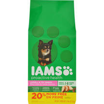 Iams Proactive Health Small and Toy Breed Adult Dog