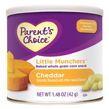 Parent's Choice Little Munchers Cheddar Snacks