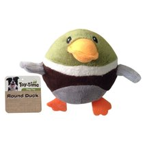 Toy Time Plush Round Duck Toy