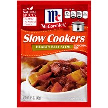 McCormick Slow Cookers Hearty Beef Stew Seasoning