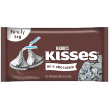 Hersheys Milk Chocolate Kisses