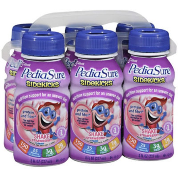 PediaSure Sidekicks Strawberry Shake Nutritional Drink