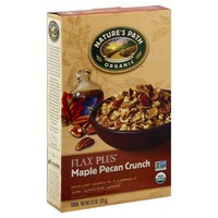 Nature's Path Organic Flax Plus Maple Pecan Crunch Cereal