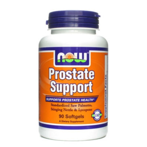 Now Prostate Support Standardized Saw Palmetto, Stinging Nettle & Lycopene Softgels