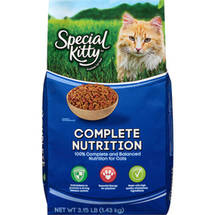 Special Kitty Complete Nutrition Dry Cat Food