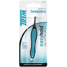 Trim Easy Hold Slant Tip Tweezers