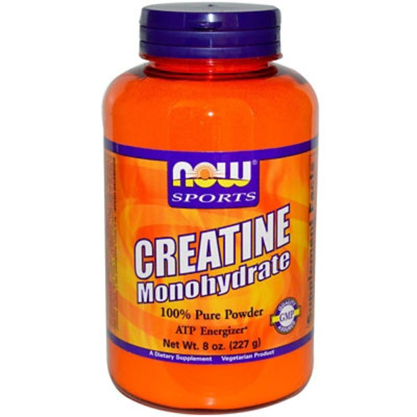Now Sports Creatine Monohydrate 100% Pure Powder