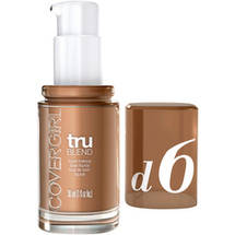 CoverGirl TruBlend Liquid Makeup TOASTED ALMOND D-6
