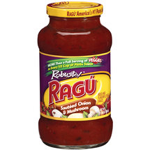 Ragu Robusto Sauteed Onion And Mushroom Pasta Sauce