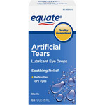 Equate Sterile Artificial Tears Lubricant Eye Drops